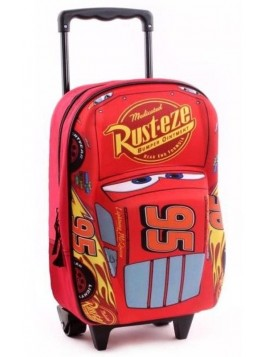 Dětský kufr na kolečkách Auta - Blesk McQueen