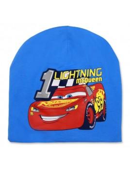Chlapecká přechodová čepice Auta McQueen 95 - sv. modrá