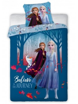 Detské bavlnené posteľné obliečky Ľadové kráľovstvo - Frozen II.