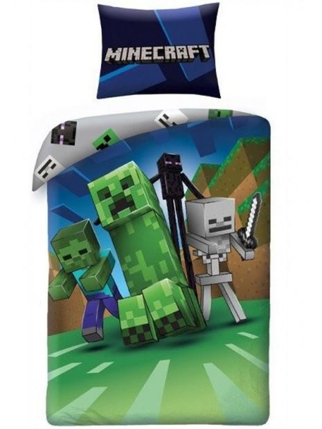 Bavlnené posteľné obliečky Minecraft - MNC - Monštrá