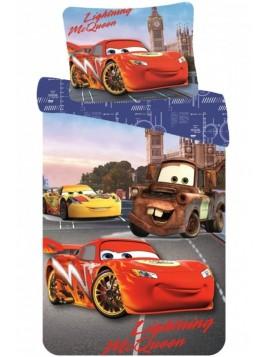 Dětské bavlněné povlečení McQueen a Burák - Auta