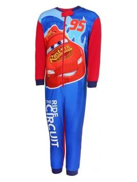 Chlapecké pyžamo overal McQueen 95 Auta - červený