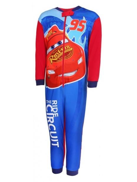 Chlapčenské pyžamo overal McQueen 95 Autá - červený