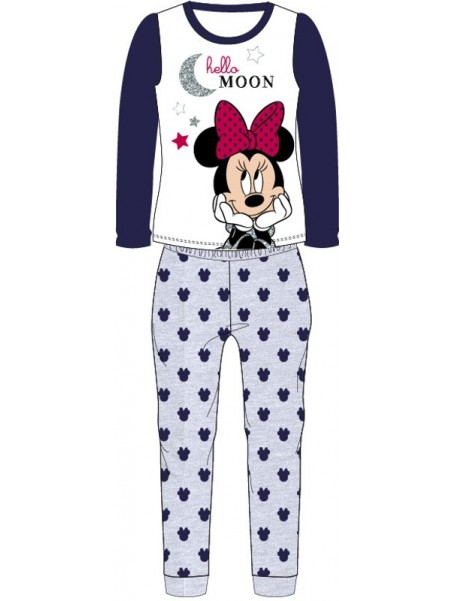 Dievčenské pyžamo Minnie Mouse (Disney) - šedé
