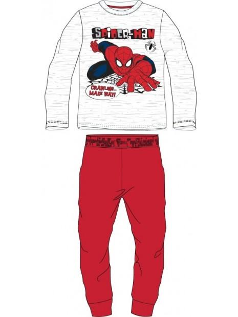 Chlapčenské bavlnené pyžamo Spiderman MARVEL - červené
