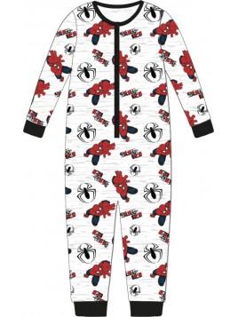 Chlapčenské pyžamo overal Spiderman MARVEL - sivý
