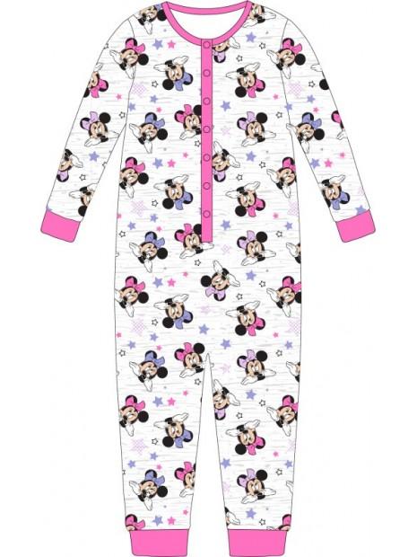 Dívčí pyžamo overal Minnie Mouse / Disney - šedé