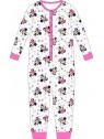Dievčenské pyžamo overal Minnie Mouse / Disney - sivé
