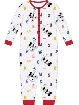 Chlapčenské pyžamo overal Mickey Mouse / Disney - sivé