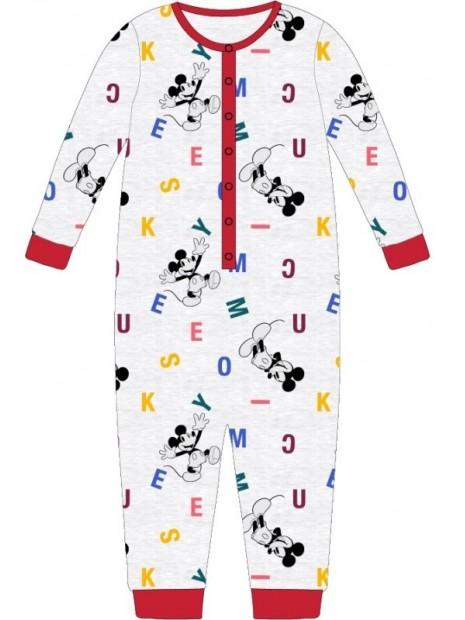 Chlapecké pyžamo overal Mickey Mouse / Disney - šedé