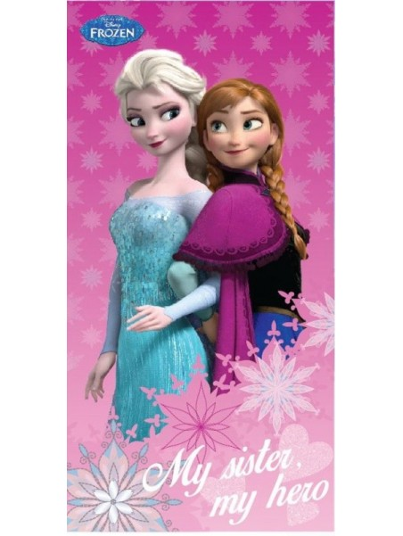 Detská bavlnená osuška Ľadové kráľovstvo - My sister, my hero