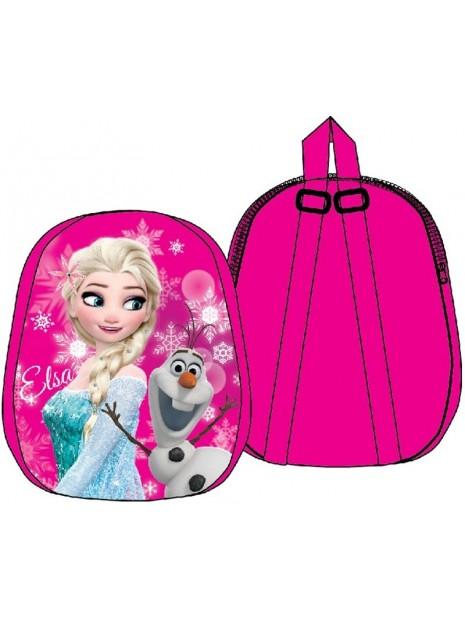 Dětský plyšový batoh Ledové království - Frozen - růžový