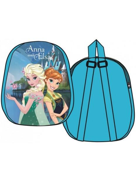 Dětský plyšový batoh Ledové království - Frozen - modrý