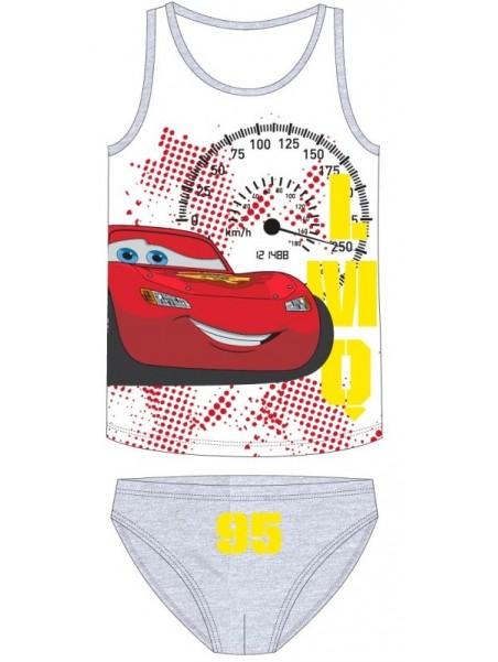 Chlapecké bavlněné spodní prádlo Blesk McQueen 95 - šedé