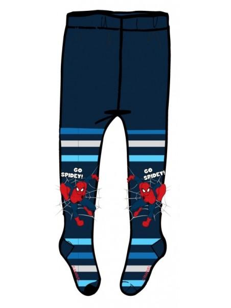 Chlapčenské pančucháče Spiderman - modré