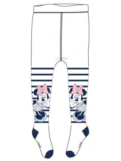 Dojčenské pančuchy Minnie Mouse - biele