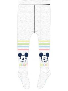Dojčenské pančuchy Mickey Mouse - šedé