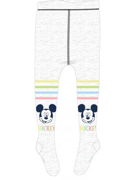 Kojenecké punčocháče Mickey Mouse - šedé