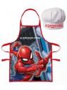 Detská zástera a kuchárska čiapka Spiderman / MARVEL