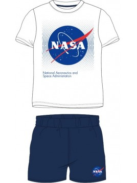 Chlapecké letní pyžamo NASA - bílé