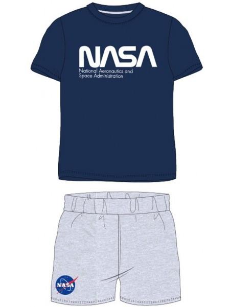 Chlapecké letní pyžamo NASA - tm. modré