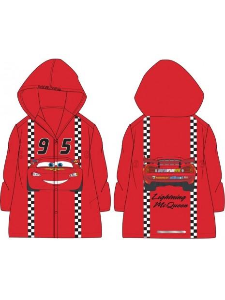 Chlapecká pláštěnka Auta / Blesk McQueen 95 - červená