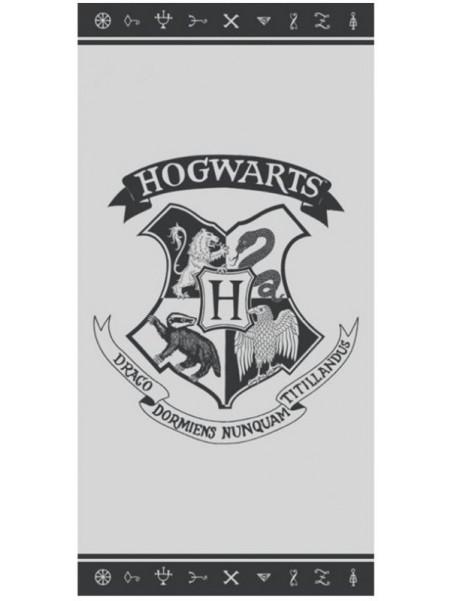 Plážová bavlněná osuška Harry Potter - HOGWARTS