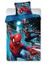 Chlapčenské posteľné obliečky SpiderMan rovnováha. Toto obojstranné obliečky je vyrobené z kvalitnej 100% bavlny. Na prednej strane obliečky na paplón je obrázok pavúčieho muža Spidermana v troch rôznych polohách. Obliečky má praktické zapínanie na zips. Rozmer: 140 x 200 cm + 70 x 90 cm. Toto posteľné obliečky získalo medzinárodný certifikát OEKO-TEX STANDARD 100, ktorý zaručuje rozmerovú a farebnú stálosť materiálu aj to, že výrobok neobsahuje škodlivé látky.