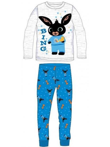 Chlapecké bavlněné pyžamo králíček Bing - šedo / modré