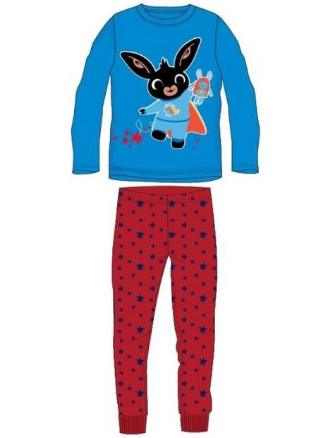 Chlapecké bavlněné pyžamo králíček Bing - modro / červené