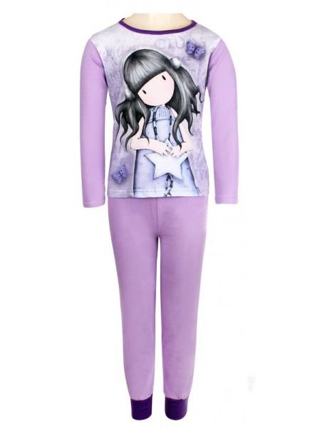 Dívčí pyžamo Santoro London - Gorjuss - sv. fialové