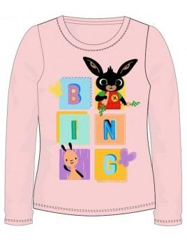 Dívčí tričko s dlouhým rukávem Zajíček Bing