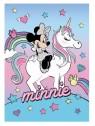 Dětská hřejivá fleecová deka Minnie mouse - Unicorn