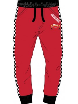 Chlapecké bavlněné tepláky Auta (Pixar - Cars) - červené