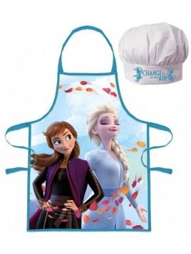 Dětská zástěra a kuchařská čepice Ledové Království - Frozen