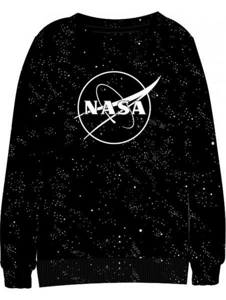 Chlapecká mikina NASA - černá
