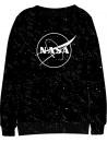 Krásná a pohodlná chlapecká mikina vyrobená ze 100% bavlny s loge úřadu pro letectví a kosmonautiku Spojených států amerických NASA.