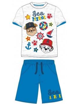 Chlapecký letní set Tlapková patrola - Paw Patrol - modrý