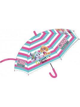 Dievčenský dáždnik Tlapková patrola - Skye a Everest