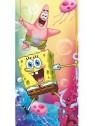 Dětská plážová bavlněná osuška Spongebob
