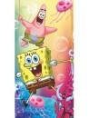 Dětská osuška Spongebob je vyrobená z příjemné 100% bavlny. Ručník zdobí obrázek oblíbené mořské houby spongeboba a Patrika. Tato kvalitní osuška zaručuje stálost barvy i po mnoha vypráních. Rozměr 70 x 140 cm. Tato osuška získala mezinárodní certifikát OEKO-TEX STANDARD 100, který zaručuje rozměrovou a barevnou stálost materiálu i to, že výrobek neobsahuje škodlivé látky.