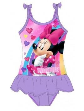 Dívčí jednodílné plavky Minnie Mouse Disney - fialové