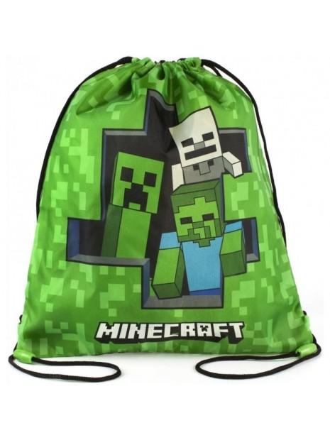 Sáček na přezůvky Minecraft - Creeper