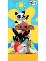 Dětská bavlněná osuška zajíček Bing a kamarádi