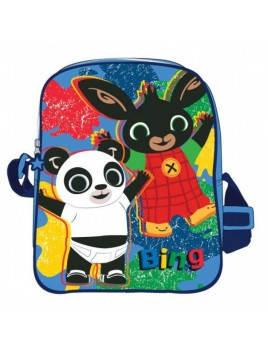 Taška přes rameno zajíček Bing - modrá