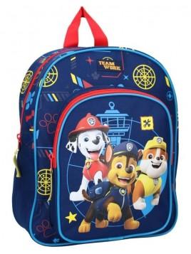 Dětský batoh s přední kapsou Tlapková patrola - TEAM WORK