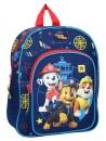 Cestovní batôžtek s obrázkom Chase, Marschall a Ruble je vhodný pre predškolské deti i malých školákov na výlety. Batoh Tlapková patrola - PAW PATROL má jednu hlavnú komoru a jednu prednú kapsu, obe so zapínaním na zips. Má široké popruhy, ktoré je možné dĺžkovo nastavovať, uško pre prenášanie v ruke alebo zavesenie. Rozmery batohu sú 30 x 25 x 11cm.