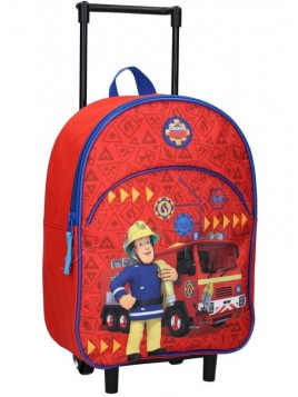 Dětský kufr na kolečkách Požárník Sam