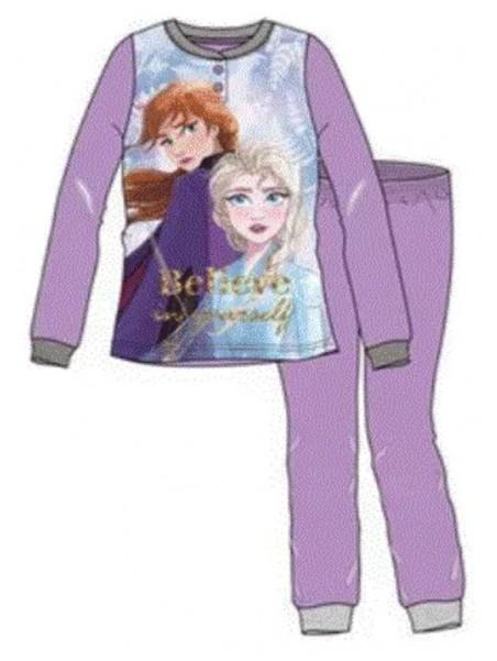 Dívčí pyžamo Ledové království / Frozen 2 - fialové