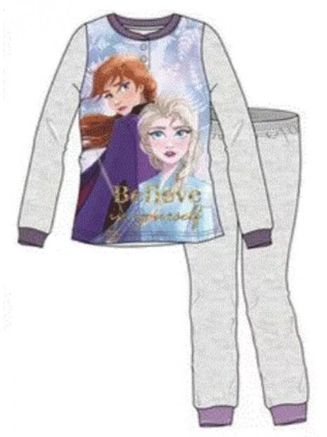 Dívčí pyžamo Ledové království / Frozen 2 - šedé